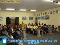 Festa de posse cdl de Cruz